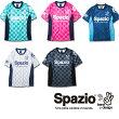 (背番号付)SPAZIOスパッツィオプラクティスシャツGE0309フットサルユニフォーム練習着レディースメンズサッカーチーム対応