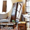 【Rouen】(ルーアン)アンティーク調の飛散防止ドアミラー
