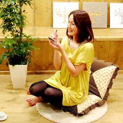 ミニ座椅子【ロゼット】(1人掛け)