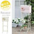 【Rococo-ロココ-】大きなお花が咲いたスタンドポスト