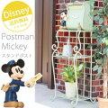 ポスト,郵便受け,郵便ポスト,置き型ポスト,スタンドポスト,メールボックス,新聞受け,ディズニー,ミッキー,グリーン,かわいい