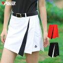 ゴルフウェア レディース スカート ゴルフスカート パンツ一体型 パンツ 無地 ホワイト 白 レッド 赤 黒 ブラック M L XL おしゃれ 可愛い 綺麗 シンプル・・・