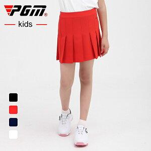 ジュニア ゴルフスカート レディース ゴルフスカート スカート 無地 レッド 赤 ブラック 黒 ネイビー 紺 ホワイト 白 S M L XL おしゃれ M L ゴルフウェア 可愛い 女の子 シンプル