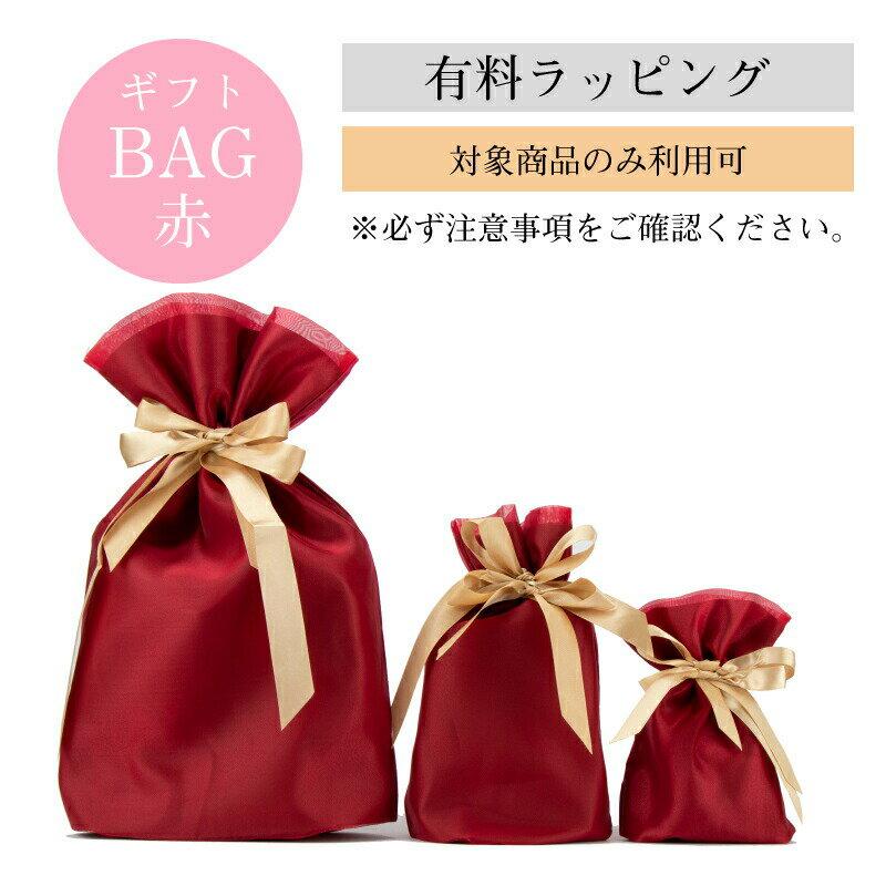 【有料770円】ギフトBAG 赤 【対応商品限定】ギフト包装 ラッピング※あす楽対応不可