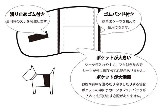 ドッググッズ>トイレ用品>マナーベルト>【Flex(フレックス)】クィックドライマルチマナーベルト
