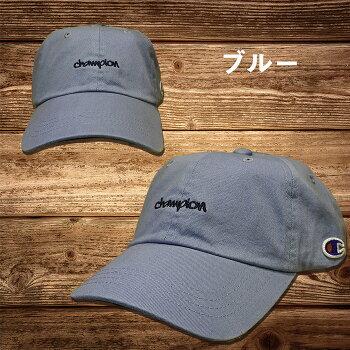 Championチャンピオンミニ刺繍ローキャップ181-0136メンズレディースベースボールキャップ帽子送料無料