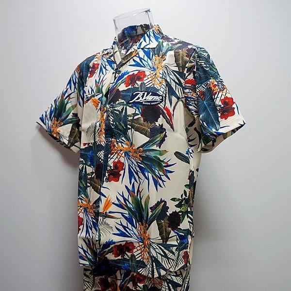 バーニヴァーノ・半袖オープンシャツ・ショートパンツ 上下(L)19 春夏 SS 新作 BSS-ISH3273-02 BSS-IPH3298-02 BARNI VARNO (L)