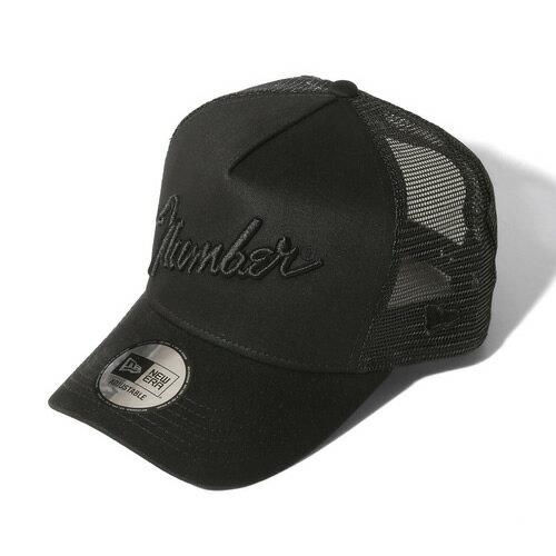 メンズ帽子, キャップ NUMBER (N)INENEW ERAnumber9MESH CAP BLACKBLACK asrk