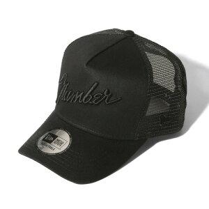 NUMBER (N)INE×NEW ERA_number9_MESH CAP BLACK×BLACK【ナンバーナイン×ニューエラ】 プロスタイリスト石黒亮一氏セレクション ナンバーナイン メッシュキャップ 帽子 メンズ キャップ 人気ブランド ロゴ プレゼント asrk