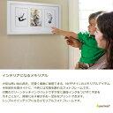 ペアヘッド peahead ベビープリント・フォトフレーム 赤ちゃんの手形 写真 横長F100出産祝い・ベビーシャワープレゼント 2