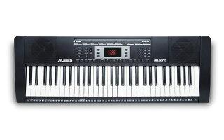 【公式/送料無料】Alesis電子キーボード61鍵ヘッドホン・マイク・スタンド・ベンチ付きMelody61