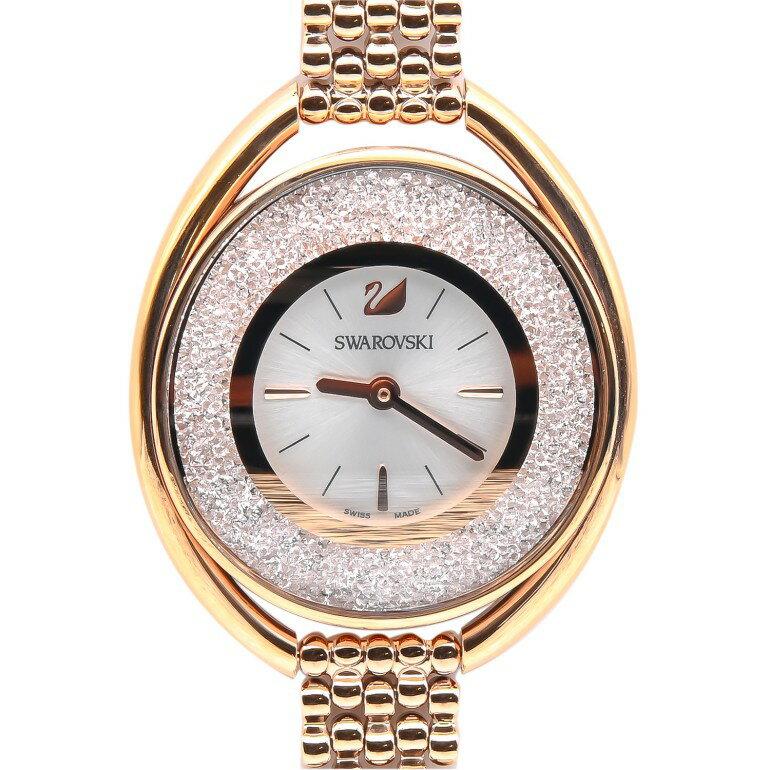 腕時計, レディース腕時計  SWAROVSKI Crystalline Oval Rose Gold Tone 5200341 wk-65