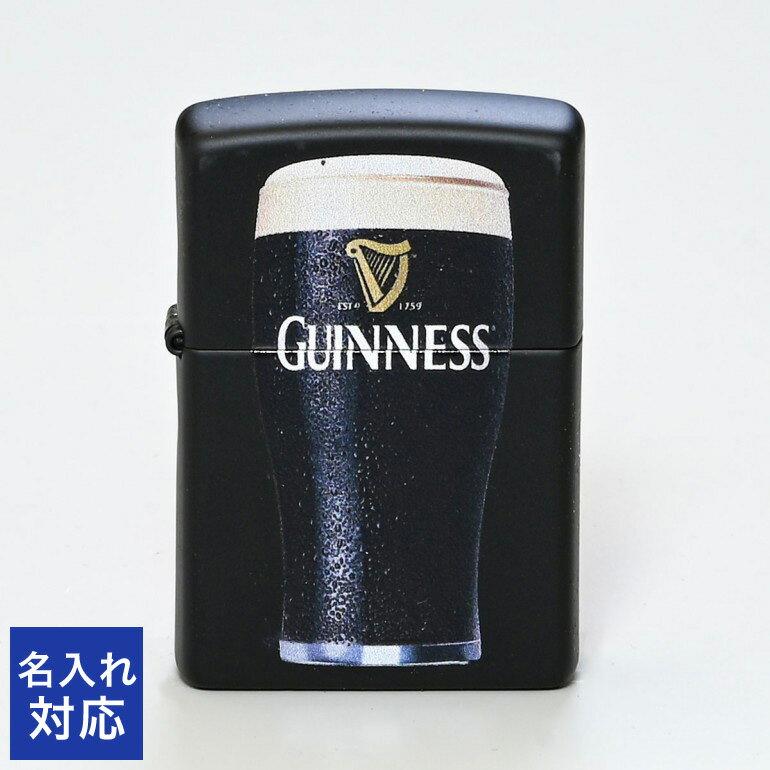 ZIPPO ジッポー ライター 名入れ無料 ギネスビール ブラック 29649 メール便可275円 ネーム入れ 名前入れ 父の日