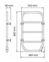 LVIタオルウォーマー壁付けタイプTS-M80【壁付け】【タオルウォーマー】【タオル】【乾燥】【電気式】【送料無料】