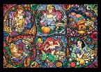 ステンドアートジグソーパズル TEN-DSG500-419 ディズニー ブリリアント プリンセス(プリンセス) 500ピース[CP-D]