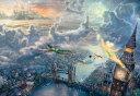 ジグソーパズル TEN-D1000-031 ディズニー Tinker Bell and Peter Pan Fly to Never Land 1000ピース[CP-D] パズル Puzzle ギフト 誕生日 プレゼント 誕生日プレゼント