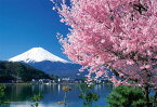 ジグソーパズル YAM-01-2068 日本の風景 桜と富士(山梨) 108ラージピース