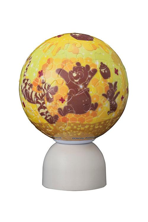 球体パズル YAM-2003-500 ディズニー パズランタン ハニー・クエスト (くまのプーさん) 60ピース パズル Puzzle ギフト 誕生日 プレゼント画像