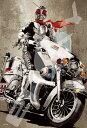 ジグソーパズル ENS-300-1371 仮面ライダーシリーズ 菅原芳人WORKS 赤き心に銀の拳 300ピース パズル Puzzle ギフト 誕生日 プレゼント