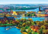 ジグソーパズル APP-500-262 風景 北欧の輝き ストックホルム旧市街 500ピース パズル Puzzle ギフト 誕生日 プレゼント 誕生日プレゼント
