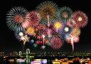 ジグソーパズル EPO-71-881 風景 東京花火 お台場レインボーブリッジ 500ピース パズル Puzzle ギフト 誕生日 プレゼント