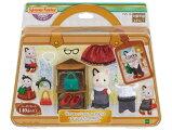 おもちゃTVS-10シルバニアファミリー街のファッションコーデセット-チャコールネコのお姉さん-[CP-SF]●予約[CP-SF]誕生日プレゼント子供女の子3歳4歳5歳6歳ギフトお人形シルバニア