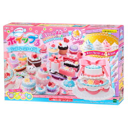 おもちゃ W-125 ホイップる シュガーレースケーキDX 誕生日 プレゼント 子供 女の子 男の子 6歳 7歳 8歳 ギフト パティシエ ホイップル
