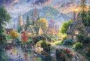 ジグソーパズル BEV-31-507 アブラハム ハンター 花咲く水辺の町 1000ピース パズル Puzzle ギフト 誕生日 プレゼント 誕生日プレゼント