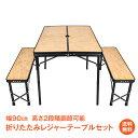 おうちキャンプ 【1年保証】アウトドア チェア テーブル セ...