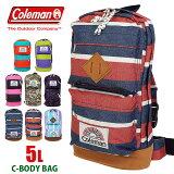 【あす楽対応/ポイント10倍】 coleman [コールマン] 5L ボディバッグ C-BODY BAG CBS3041 【レディース】【ブランド】
