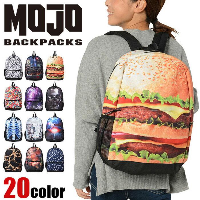 男女兼用バッグ, バックパック・リュック  MOJO BACKPACKS MBNA 9102