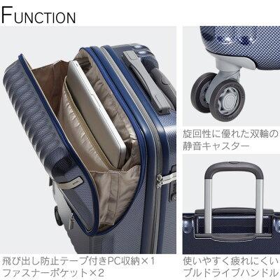 ace.(エース)おすすめのブランドスーツケース4
