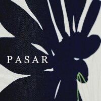 PASAR/パサール/濃紺/ネイビー/ファブリックパネル/30×30cm/3枚セット/インテリアパネル/花柄/写真と同じ柄をお届けします。