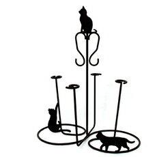 猫 ねこ ネコ キャット 好きならおすすめ【新商品】コップスタンド ネコ