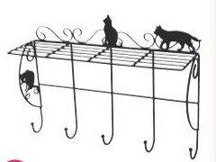 猫 ねこ ネコ キャット 好きならおすすめ【新商品】ウォールシェルフ ネコ
