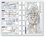 ダ・ヴィンチ リフィル ポケットサイズ・情報 全国地下鉄路線図 davinci DPR257