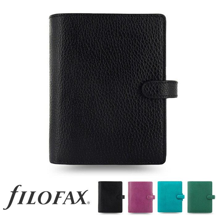 ドミノ システム手帳 ファイロファックス (ミニ6穴) ソフト ポケット ピンク