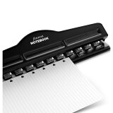 ノートブック A4、A5、ポケット、スマート サイズ用 市販用紙穴あけパンチ filofax ファイロファックス
