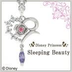 Disney ディズニー 眠りの森の美女 オーロラ姫 シルバーネックレス オーロラ姫 ペンダント 公式 オフィシャル ジュエリー ネックレス ハート Disneyzone