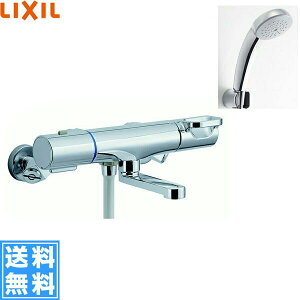 [BF-WM147TSC]リクシル[LIXIL/INAX]シャワーバス水栓[サーモスタット][エコフルスプレーシャワー(メッキ仕様)][一般地仕様]【送料無料】