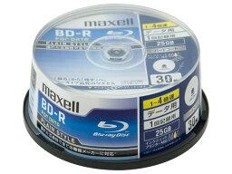 ★★BR25PPLWPB.30SP日立マクセルデータ用ブルーレイディスクBD-R 「Plain style」 (1〜4X対応) BR25PPLWPB.30SP