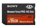 【納期約7〜10日】MS-HX16B [SONY ソニー] メモリースティック PRO-HG デュオ MSHX16B