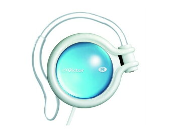 HP-AL102-WPJVCケンウッドVictorステレオヘッドホンHPAL102WPホワイト&ルビーピンク