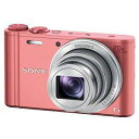 【納期約7〜10日】DSC-WX350(P)ピンク【送料無料】[SONY ソニー]デジタルスチルカメラ Cyber-shot(サイバーショット) DSCWX350B