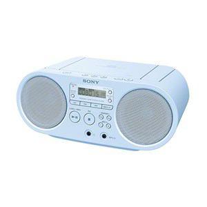 【2015年2月21日発売予定】ZS-S40(L)ブルー[SONYソニー]CDラジオZSS40L