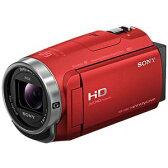 【納期約4週間】HDR-CX680-R 【送料無料】[SONY ソニー] デジタルHDビデオカメラレコーダー レッド HDRCX680R