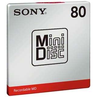 録画・録音用メディア, ミニディスク 710MDW80T-W SONY MD MDW80TW