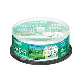 【納期約1〜2週間】マクセル(Maxell) DRD120WPE20SP 録画用DVD-R ひろびろ美白レーベルディスク 1-16倍 4.7GB 20枚 スピンドルケース