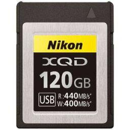【納期約2週間】Nikon ニコン MC-XQ120G XQDメモリーカード 120GB