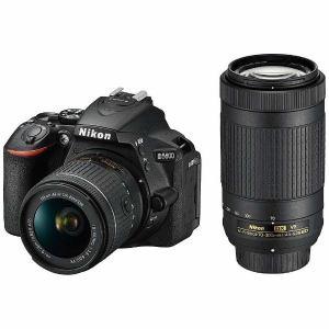 【納期約2週間】NikonニコンD5600-W70300KITデジタル一眼カメラ「D5600」ダブルズームキットD5600W70300KIT